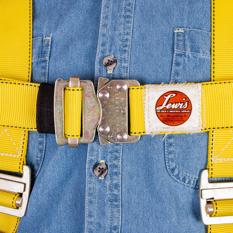 Fall Arrest Harness FW-3 Chest Quick Release Buckle