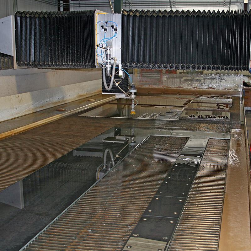 Waterjet Cut Parts Industrial Applications - Precise No Warping