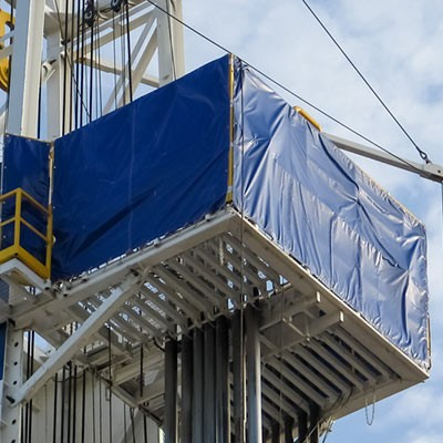 Rig Housing Weather Barrier Covers