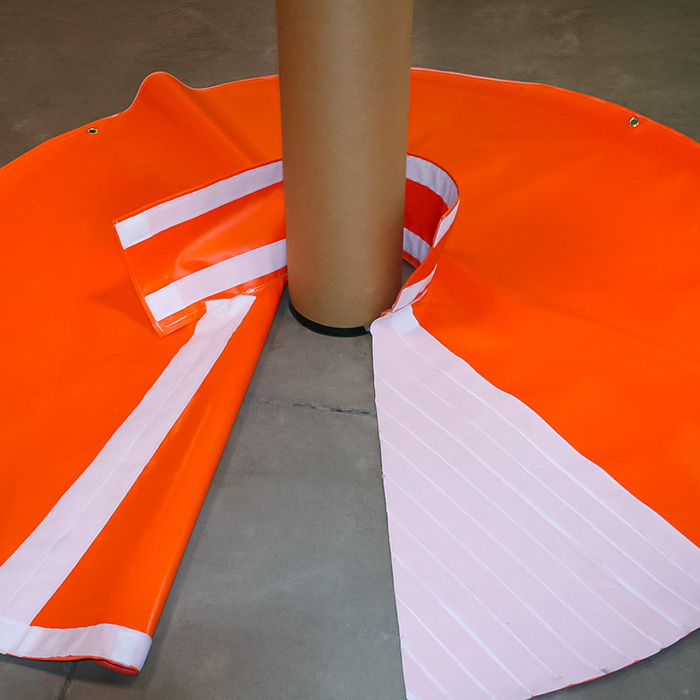 Rotary Table Skirt For Drilling Rig Tool Drop Protection