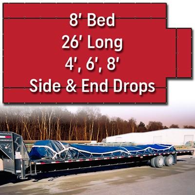 Flatbed Truck Tarps Tractor Trailer Tarps