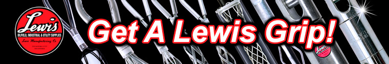 Pulling Grips Wire Mesh Grips by Lewis Mfg. Get A Lewis Grip!